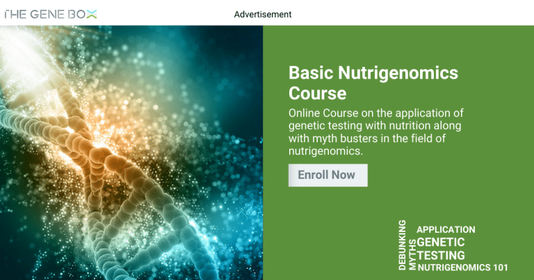 Basic Nutrigenomics Certified Course, enroll now to learn about nutritional genomics
