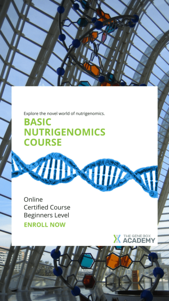 basics nutritional genomics certified course for health care
