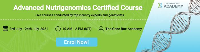 advanced nutrigenomics Certified course